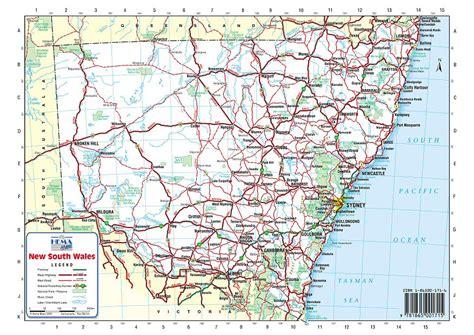 australia road maps nsw