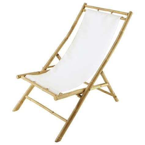 chaise longue chilienne chaise longue chilienne pliante en bambou l 94 cm