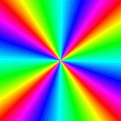 Rainbow Square Clip Colouring Clker Colors Clipart