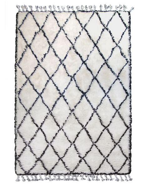 tapis chambre enfants tapis bèrbère blanc 180x280 cm hk living