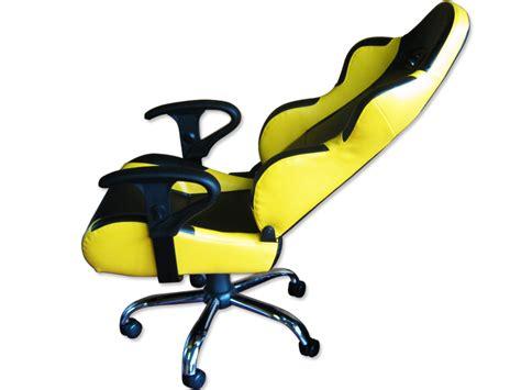 siege baquet belgique siege baquet fauteuil de bureau cuir jaune noir pied