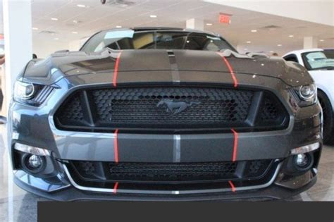 "10"" twin 2 color Rally Stripes Fit 2015 2016 2017 2018 Mustang"
