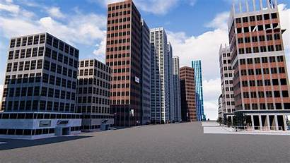 3d Office Buildings Skyscrapers Exterior 3dsmax Turbosquid