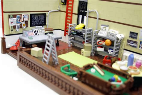 lego ghostbusters headquarters by pax the brick fan