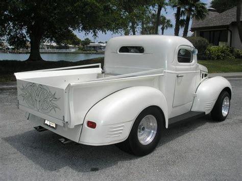 Sell New 1940 Dodge Custom Pickup Off Frame Restored