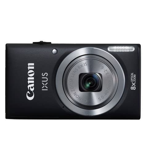 canon point and shoot canon ixus 132 advance point and shoot black by canon