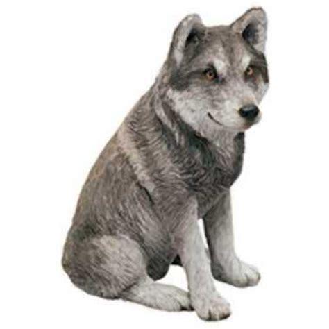 mexican wolf figurine statue  sandicast  anwocom
