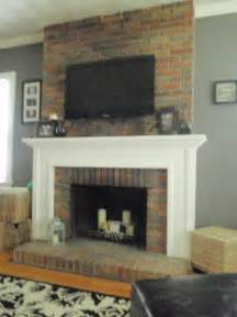 Mounting TV On Brick Fireplace
