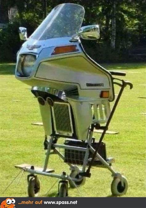 biker rollator lustige bilder auf spassnet