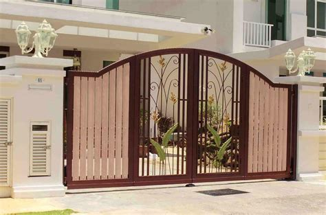 exterior gate designs modern exterior gate design of entry designs with outdoor trends beautiful savwi com