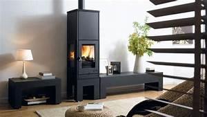 Cheminée à Bois : cheminee insert moderne ~ Premium-room.com Idées de Décoration