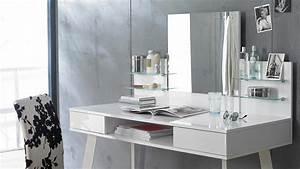 Computertisch Weiß Hochglanz : schminktisch 6235 kommode computertisch spiegel in wei hochglanz lack ~ Indierocktalk.com Haus und Dekorationen