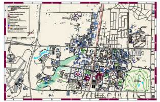Texas A&M University College Station Map