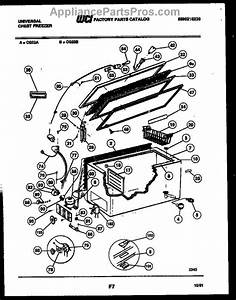 Parts For Frigidaire Cg23b  Chest Freezer Parts