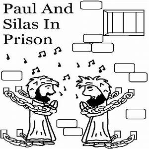 Paul And Silas Coloring Pages Printable Coloring Pages