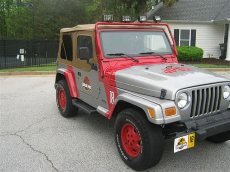 jurassic park jeep wrangler instructions 2002 jeep wrangler jurassic park edition