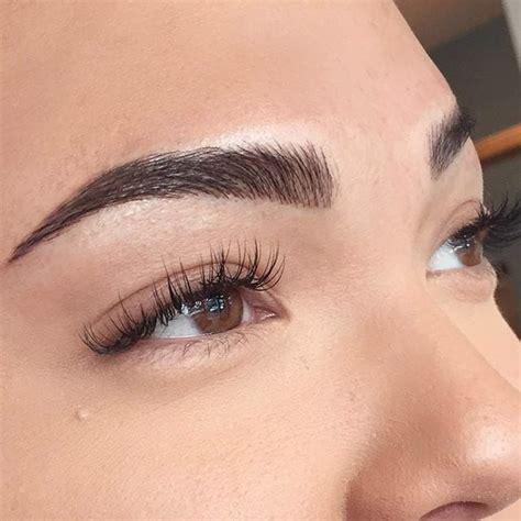 tattooed eyebrows ideas  pinterest