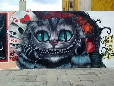 Grafiti Cat : Cheshire Cat Graffiti