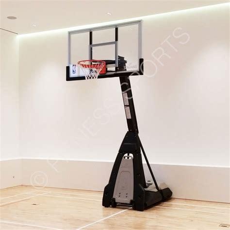 spalding beast portable acrylic basketball goal post