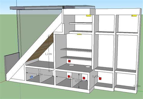 Armoire Sous Escalier Ikea by 17 Best Images About Rangement Sous Escalier On Pinterest