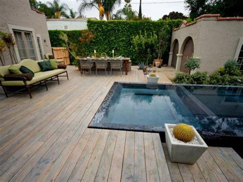 kleingarten mit pool auf der terrasse garden garten gestalten kleine g 228 rten gestalten und