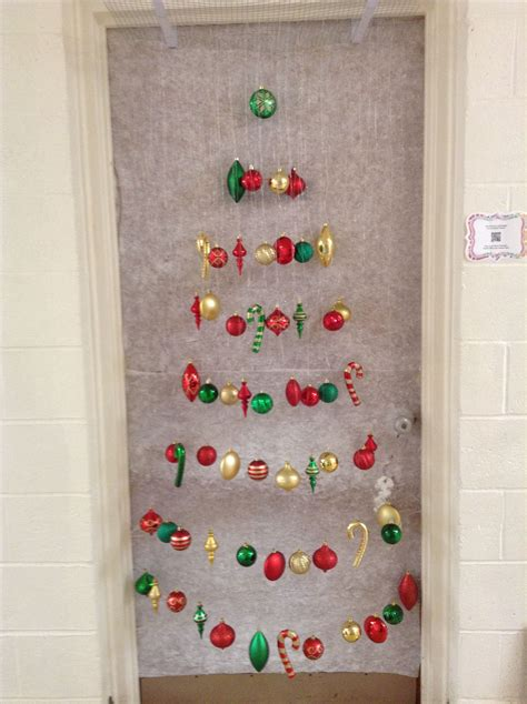 christmas door decoration    won st place