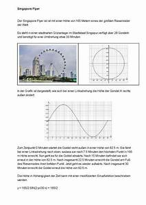 Sinusfunktion B Berechnen : sinusfunktion h he im riesenrad singapore flyer mit der sinusfunktion berechnen mathelounge ~ Themetempest.com Abrechnung