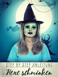 Gruselige Hexe Schminken : hexe schminken step by step anleitung halloween hexe schminken gruselige hexe schminken ~ Frokenaadalensverden.com Haus und Dekorationen