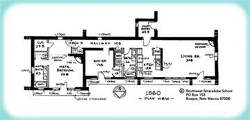 adobe house plans pictures solar adobe house plan 1560