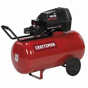 Craftsman - 16734 - 33 gal Air Compressor,2 hp