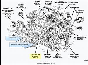 Where Is The Location Of A Crankshaft Sensor On A 2005
