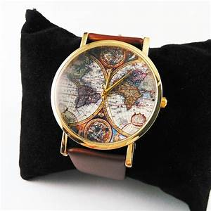 aliexpresscom acheter nouvelle terre carte du monde With robe fourreau combiné avec bracelet montre strap