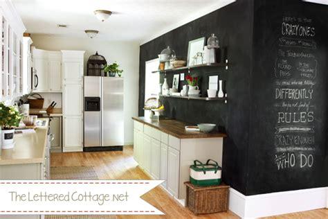 blackboard in kitchen paint wall black walls chalk board chalkboard paint chalkboard wall kitchen cottage