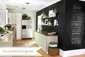 remodelaholic best paint colors for your home black With best brand of paint for kitchen cabinets with black art wall murals
