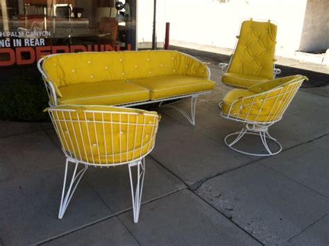 vintage homecrest wire patio furniture 1000 ideas about vintage patio furniture on