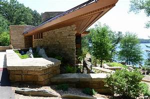 free home plans usonian home designs With frank lloyd wright home designs