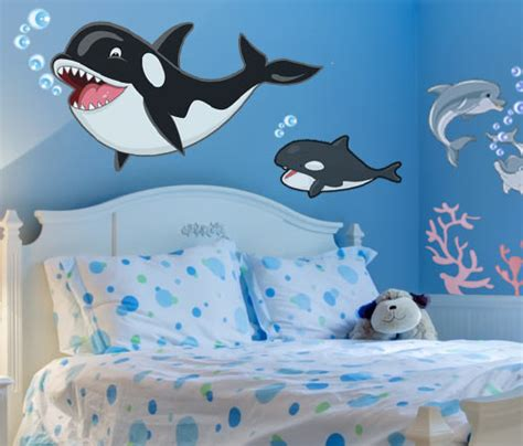 chambre dauphin stickers dauphin vente stickers fond marin pour enfants