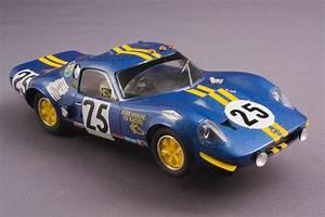 Toni Bareta Slot  Chevron B12 Le Mans 1968