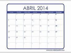 calendario abril 2014 best info calendario abril 2014
