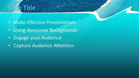 island powerpoint template  powerpoint templates