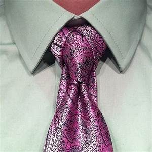 Exotic Knot for Your Necktie - The Cape Knot - AllDayChic