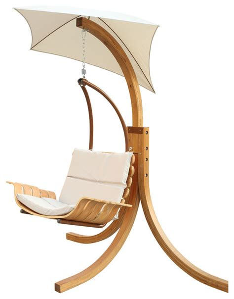 swing chair with umbrella contemporary hammocks and swing chairs