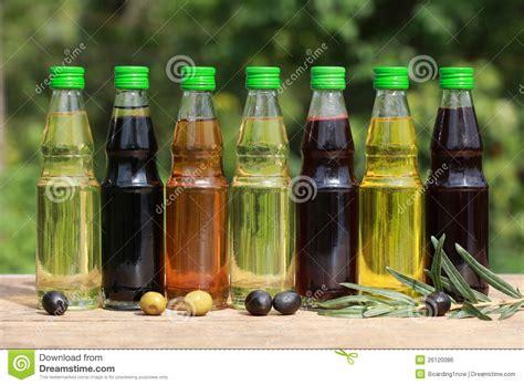 huile de cuisine différents types d 39 huile de cuisine image libre de droits
