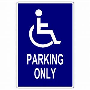 Handicap parking 102 handicap parking sign templates for Handicap parking sign template