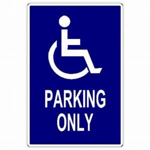 Handicap parking 102 handicap parking sign templates for Handicap parking sign template