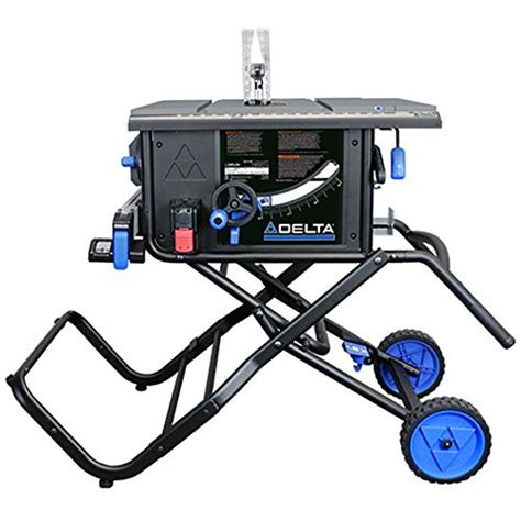 delta table saw power switch delta power tools 36 6010 10 quot portable table saw blue