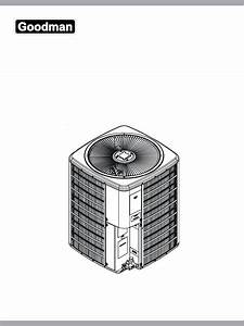 Goodman Mfg Heat Pump Ssz 14 Seer User Guide
