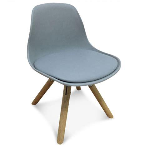 chaises enfants chaise scandinave enfant gris marmaille