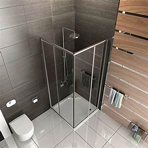 Gartensauna Mit Dusche : duschabtrennung mit rahmen dusche duschkabine 100x100 alpenberger echtglas eckeinstieg ~ Whattoseeinmadrid.com Haus und Dekorationen