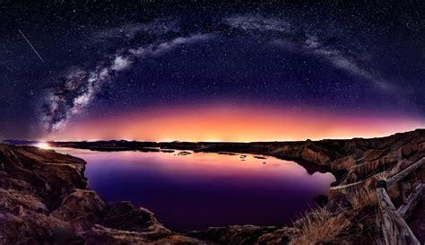 Long Exposure, Galaxy, Milky Way, Starry Night, Comet